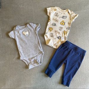 4/$25 0-3 month baby bundle